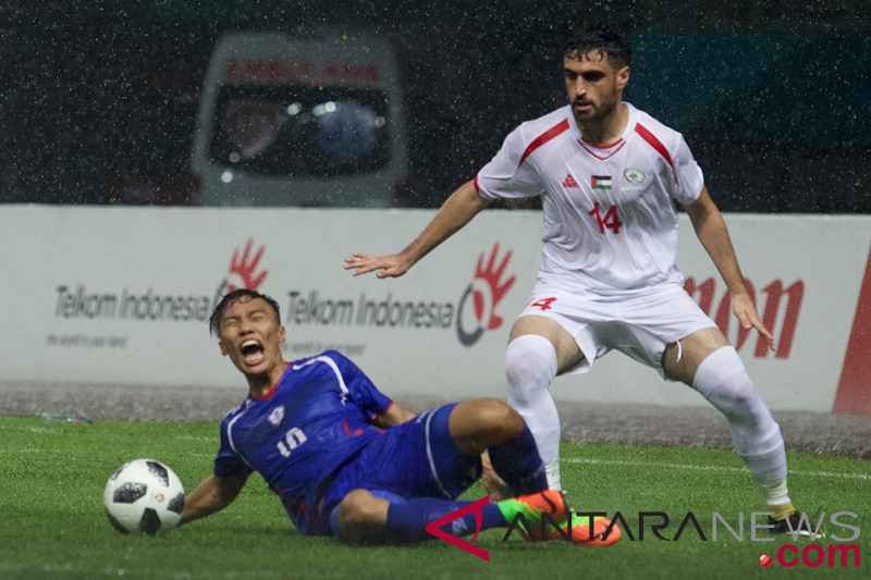 Sepak Bola - Palestina kontra Taiwan berakhir imbang 0-0