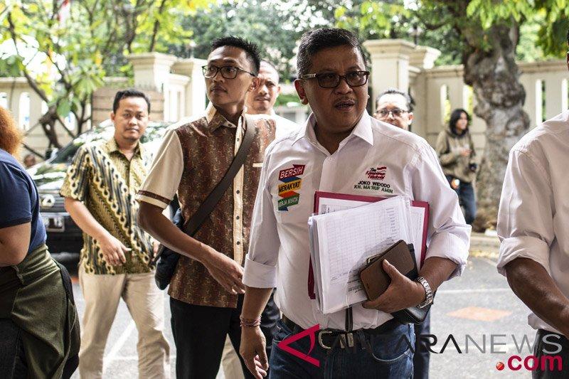 Ketua TKN Jokowi-Ma'ruf diterima partai koalisi