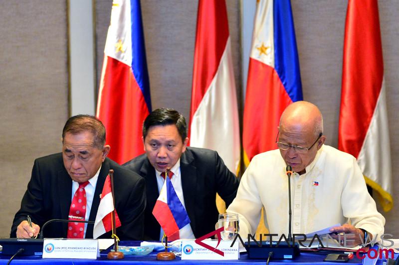 Bilateral Menhan Indonesia-Filipina