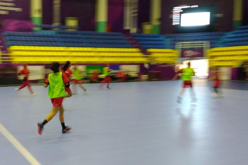 Jadwal pertandingan bola tangan di Cibubur