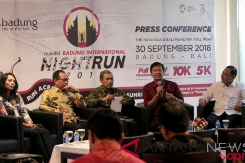 "BUMN gelar maraton Badung ""international night run"""