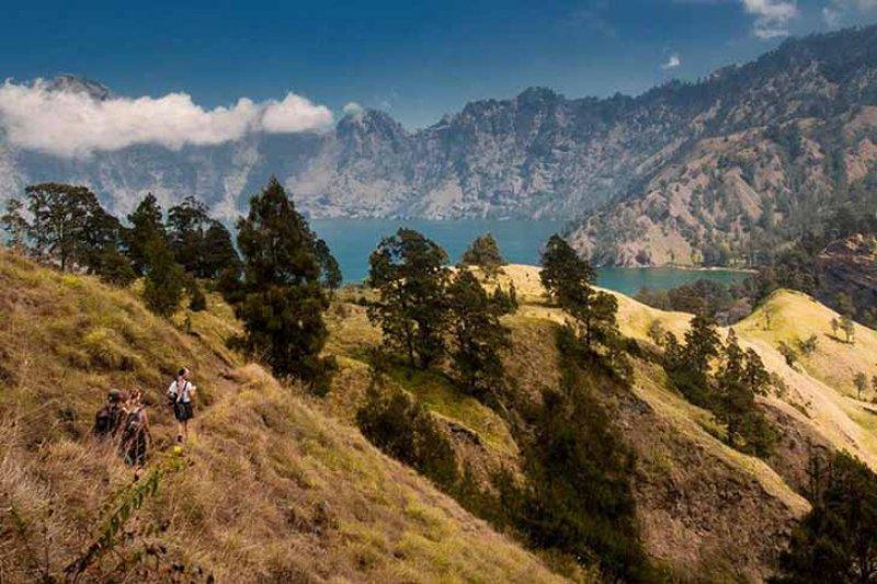 Pemerintah akan kaji ulang rencana pendakian Rinjani