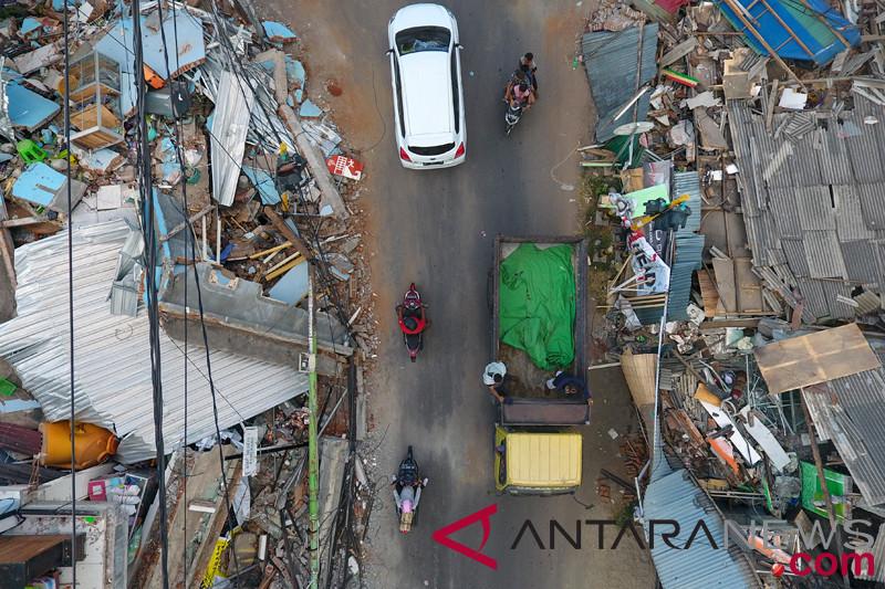 Korban Gempa Lombok Bertambah