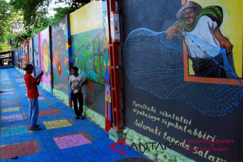 Lorong warna warni Makassar