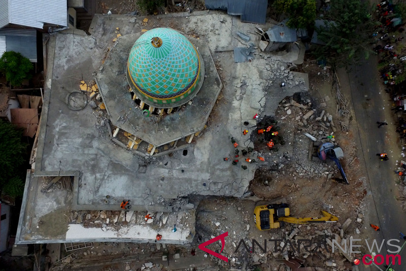 NU Jateng bangun masjid darurat di Lombok