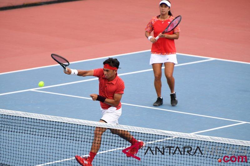 Aldila/Christopher sumbang emas tenis untuk Indonesia
