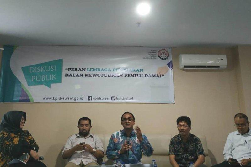 KPID Sulsel gelar dialog publik kampanye damai