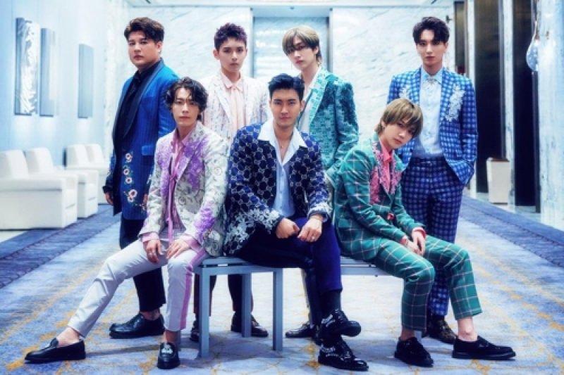 Super Junior gelar konser di Indonesia Juni