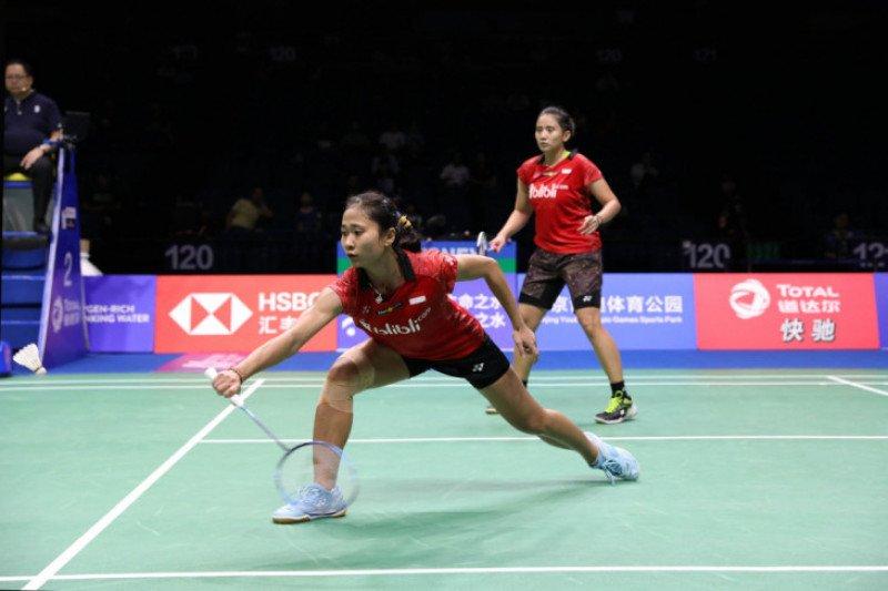 Dua ganda putri Indonesia lolos ke semifinal Vietnam Open