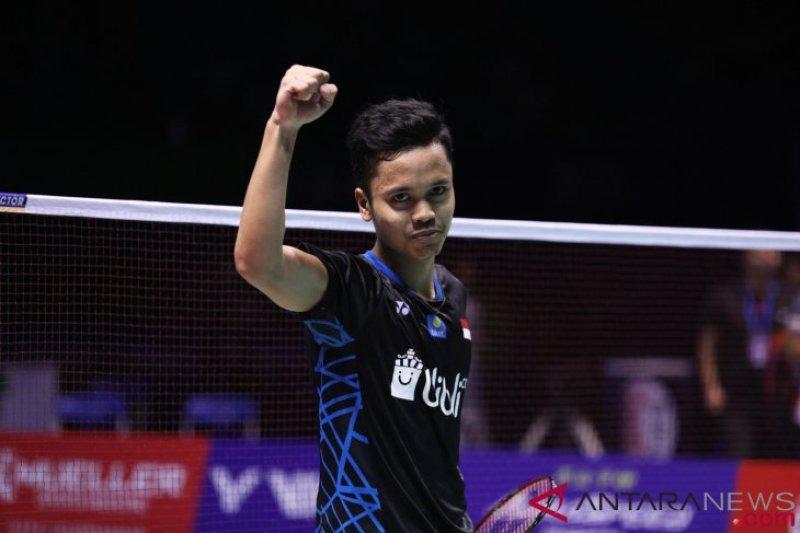 Ini target Anthony Ginting di turnamen Malaysia Masters 2019