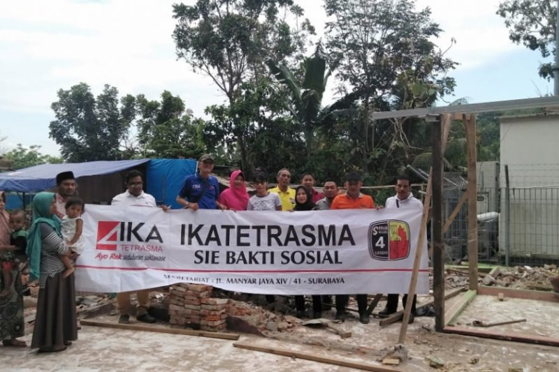 IKA Tetrasma Surabaya bantu korban gempa Lombok