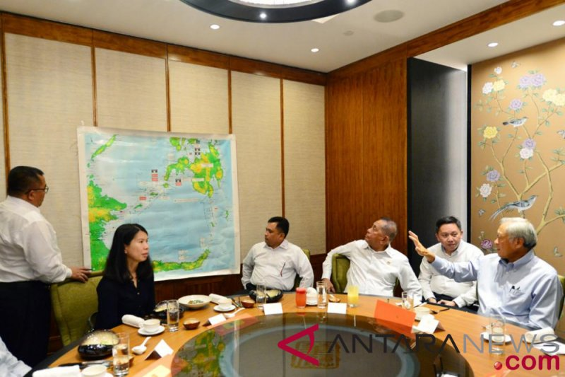 Menhan Ryamizard-Menhan Singapura bahas penguatan