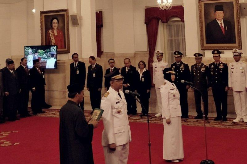 Jokowi minta gubernur-wakil gubernu NTB langsung kerja