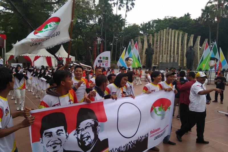 Relawan Bekerjo galang dukungan untuk Jokowi-Ma'ruf