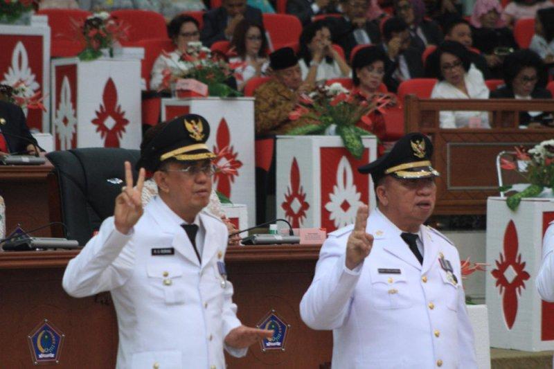 Resmi Dilantik, Roring Bersama Dondokambey Siap Jalankan Amanah Rakyat Minahasa
