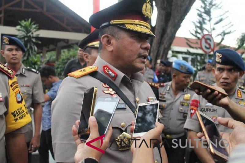Kapolda Sulteng tindak tegas anggota terlibat narkoba
