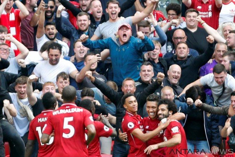 Liverpool berhasil bungkam Watford