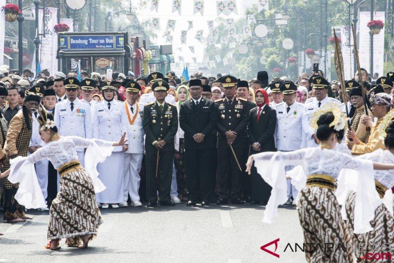Pelantikan Bupati dan Walikota di Jabar