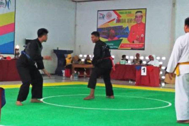 Kabupaten Bantaeng kawinkan gelar pencak silat kelas A Porda