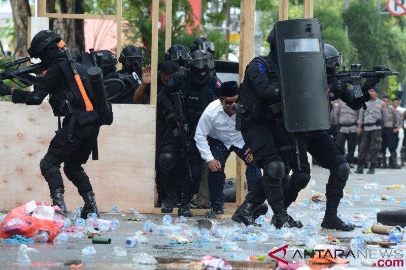 Kasus terorisme paling menonjol di Jawa Timur selama 2018