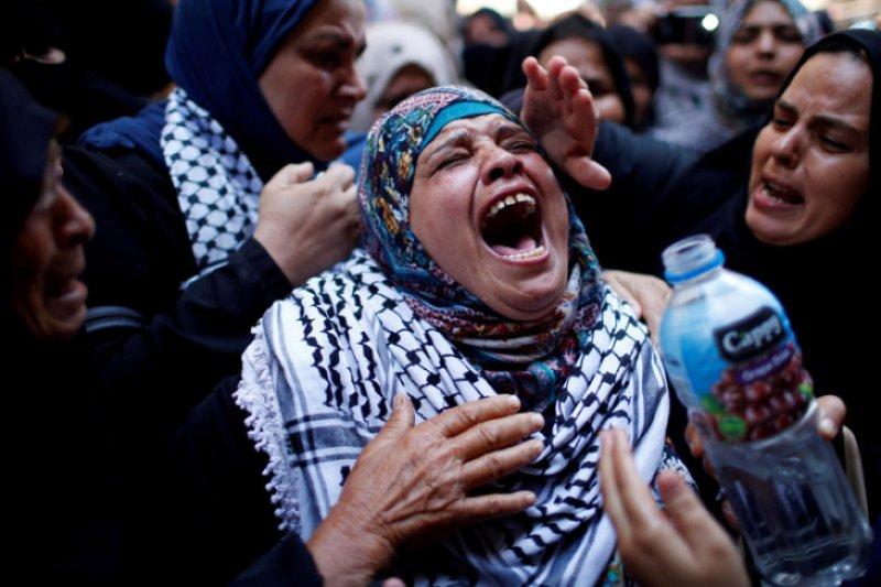 Bentrokan dengan tentara Israel, 180 orang Palestina cedera