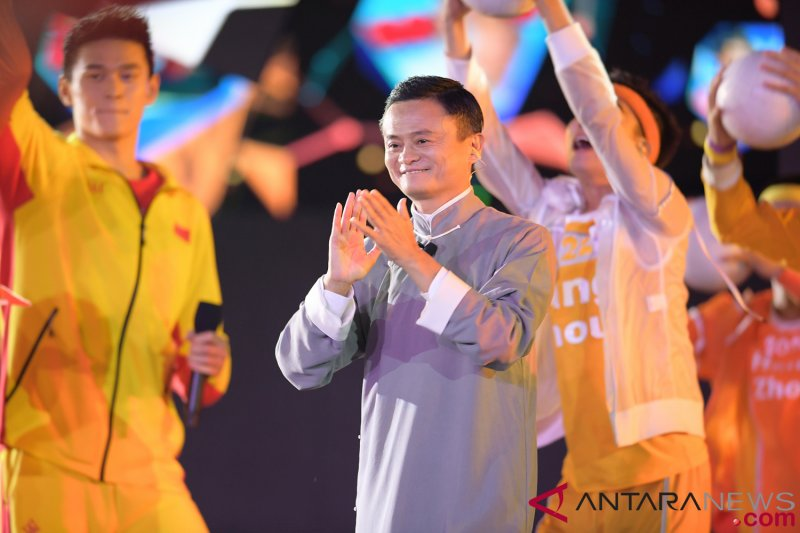 Jack Ma kenalkan Hangzhou pada penutupan Asian Games 2018