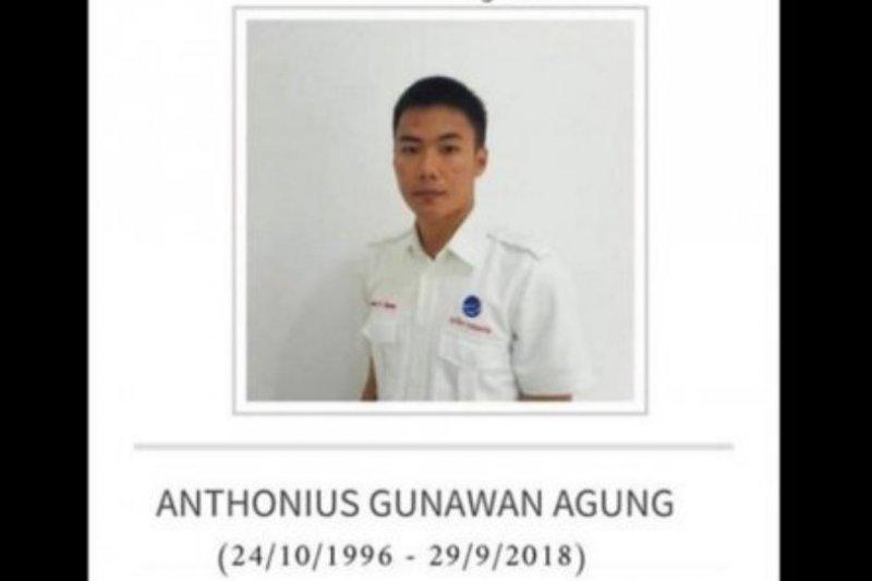 Jenazah petugas ATC Antonius Gunawan disemayamkan di Makassar