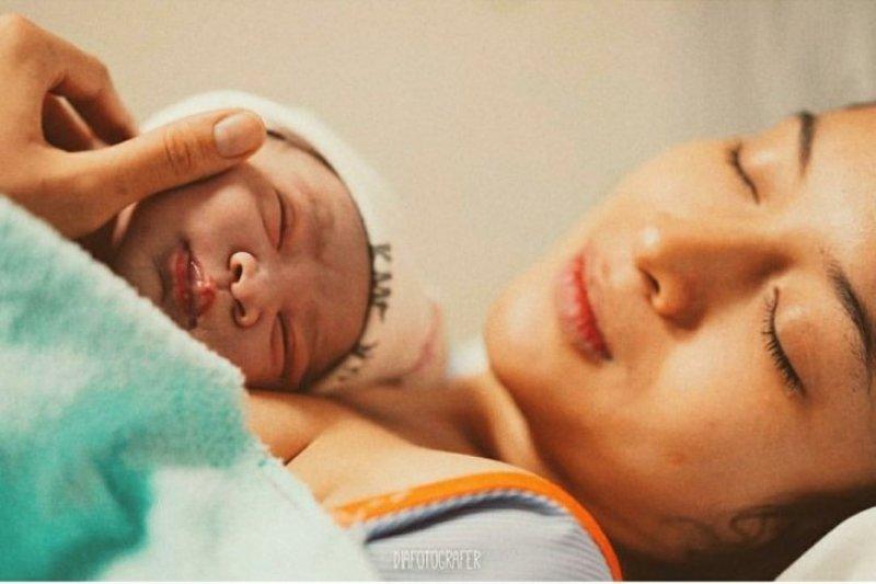 Chicco Jerikho makin sayang istri setelah lihat proses melahirkan