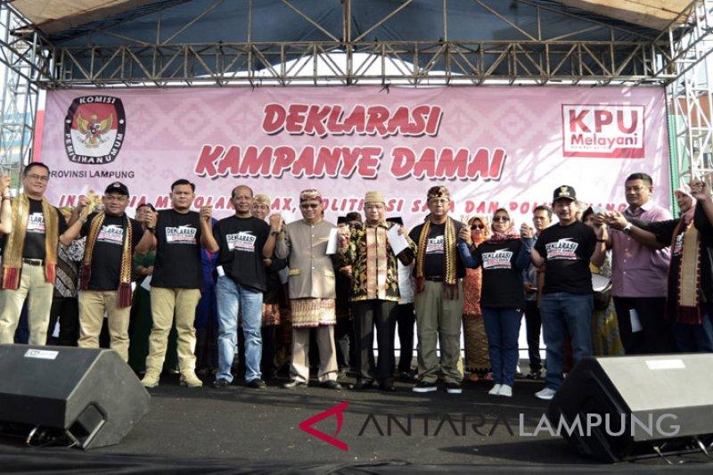 Lampung siap laksanakan pemilu damai