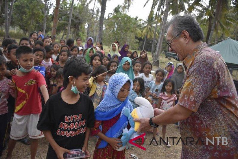 LPS serahkan bantuan untuk korban gempa Lombok