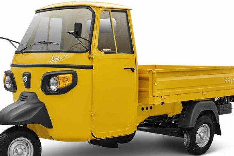 Piaggio mempresentasikan Ape model terbaru di India