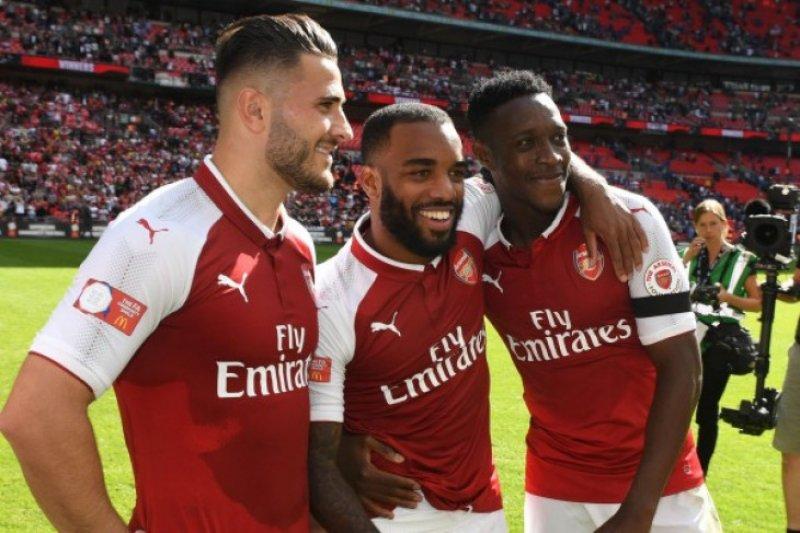 Lacazette amankan tiga poin untuk Arsenal