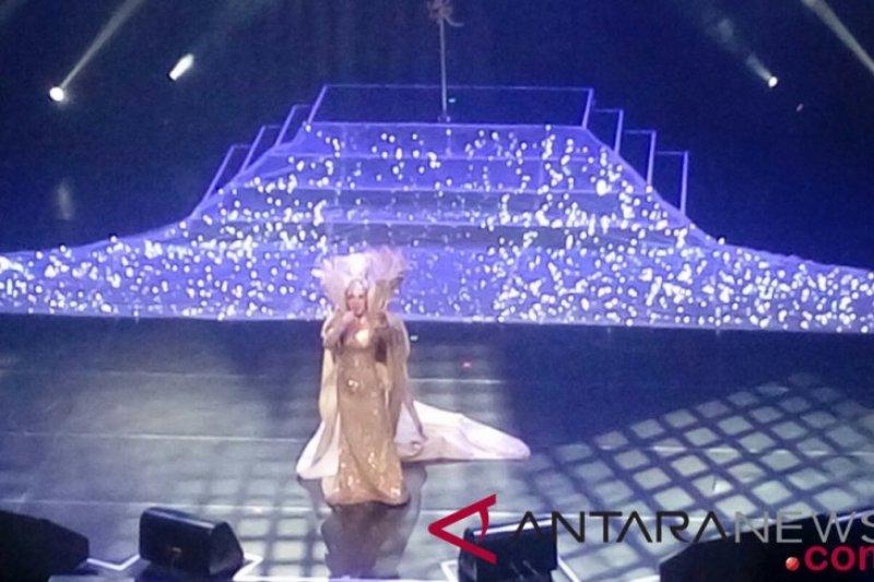 "Syahrini bercerita kehidupan pribadinya pada konser ""Journey of Syahrini"""