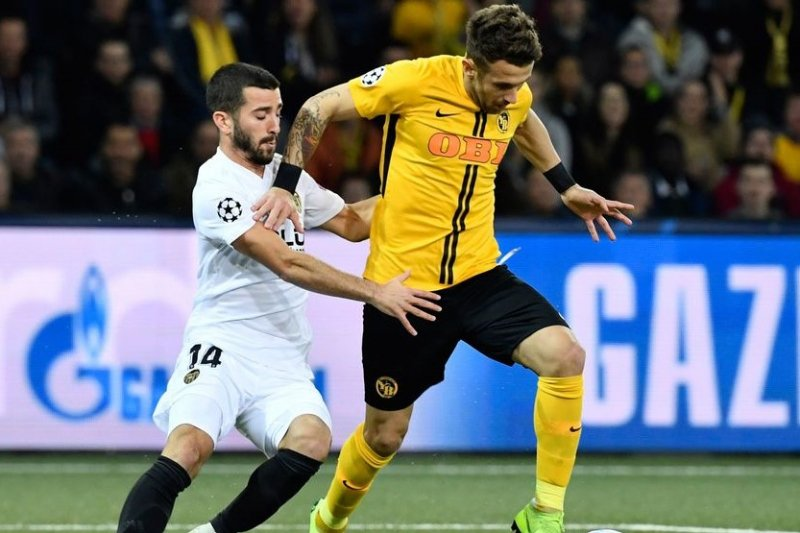 Valencia vs Young Boys berakhir imbang 1-1