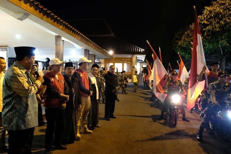 Rombongan Kirab Satu Negeri tiba di Kota Magelang
