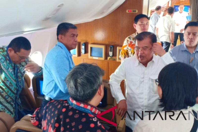 Wapres bertolak menuju Bali