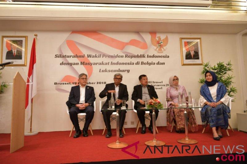 Wapres tatap muka dengan masyarakat Indonesia di Belgia dan Luxembourg