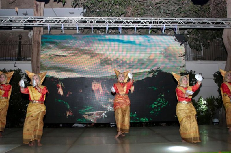 Budaya Minang meriahkan resepsi diplomatik di Mesir