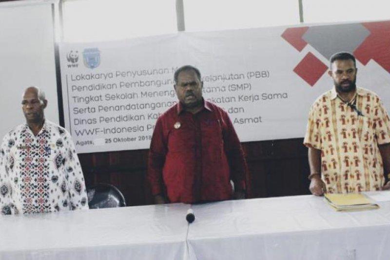 WWF Papua jalin kerja sama dengan Dinas Pendidikan Asmat