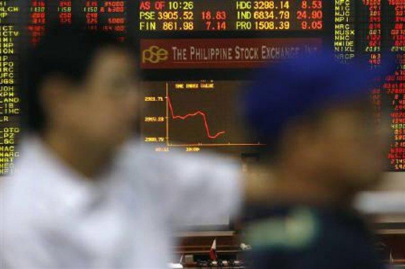 Bursa saham Filipina anjlok, Indeks PSE ditutup turun 75,47 poin