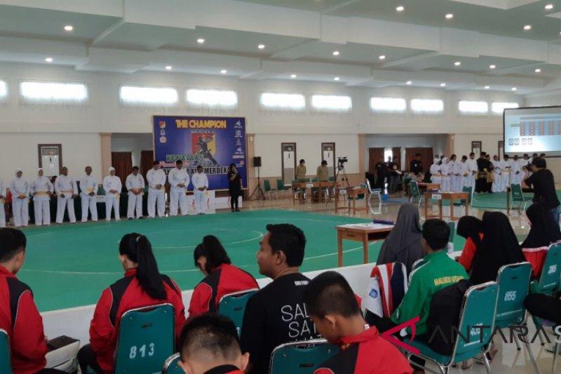 Ratusan pesilat bertarung di Kejuaaan Pangdam Cup