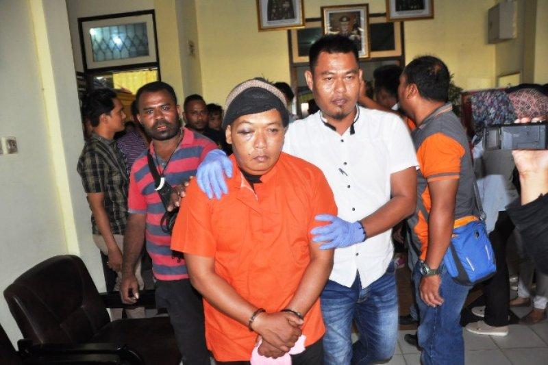 "Polisi Merauke tangkap sepasang ""kekasih gelap"" penganiaya Aiptu Ramin"