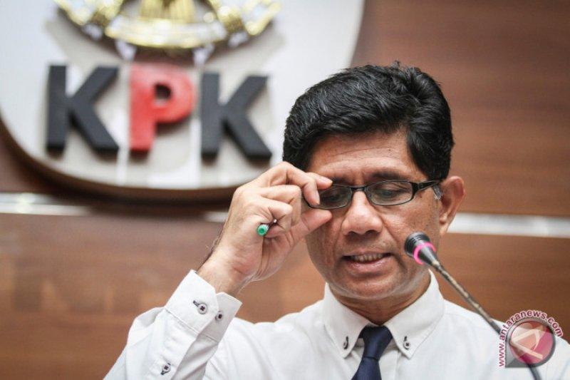 KPK akhirnya tetapkan 7 tersangka dugaan korupsi di DPRD Kalteng