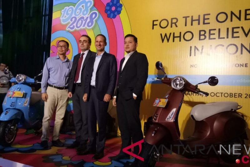 Vespa Primavera 50th edisi terbatas siap dipasarkan di Indonesia