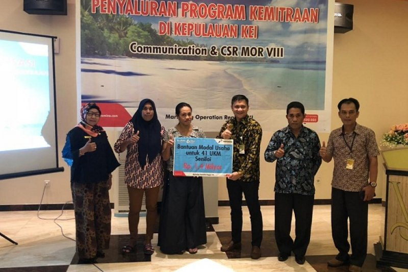 Pertamina Maluku-Papua dorong pengembangan UMKM di Tual