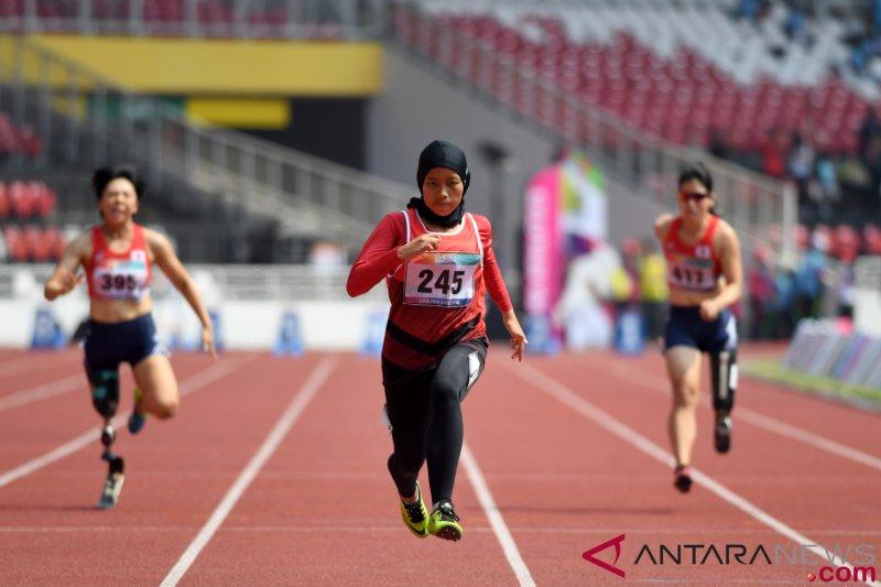 Karisma Tiarani tak menyangka pecahkan rekor dunia para atletik