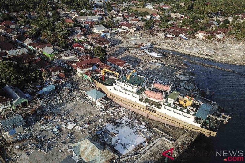 Badan Geologi tegaskan tidak ada informasi Palu akan tenggelam