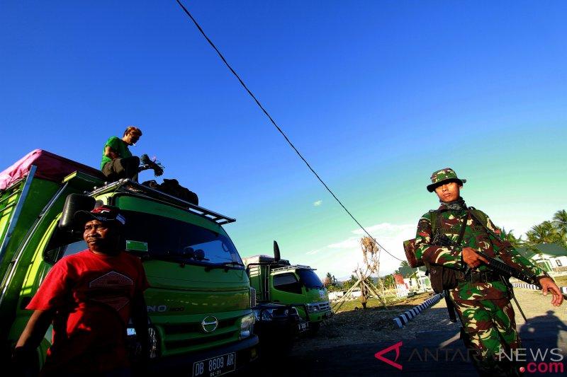 Korban kebakaran Gorontalo mendapat bantuan Korem 133