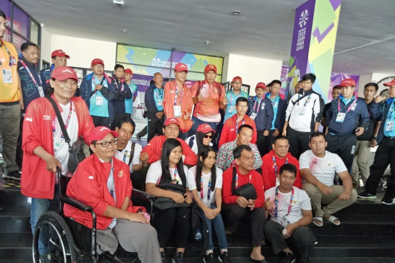 Asian Para Games - Indonesia sudah meraih 23 medali emas