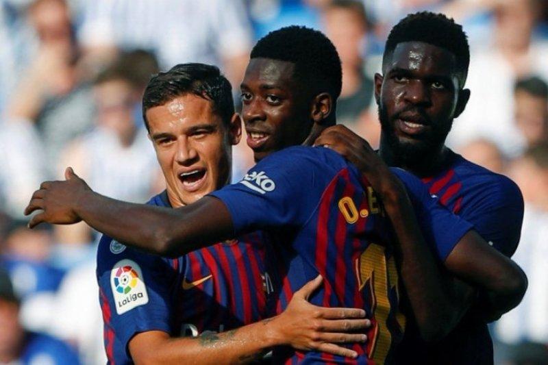 Arsenal ngotot rekrut Ousmane Dembele dari Barcelona